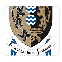 Cavan County Council Crest Double Sided Flano Blanket (Small)