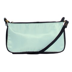 Neon Color - Light Malachite Greenish Gray Shoulder Clutch Bags