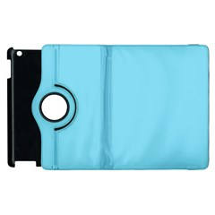 Neon Color - Luminous Vivid Blue Apple iPad 2 Flip 360 Case