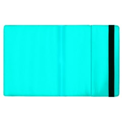 Neon Color - Luminous Vivid Cyan Apple iPad 3/4 Flip Case