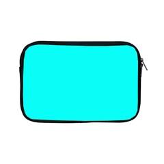 Neon Color - Luminous Vivid Cyan Apple iPad Mini Zipper Cases