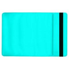 Neon Color - Luminous Vivid Cyan iPad Air 2 Flip