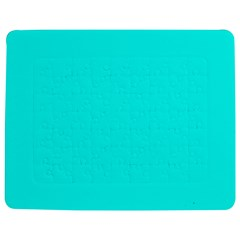 Neon Color - Luminous Vivid Cyan Jigsaw Puzzle Photo Stand (Rectangular)