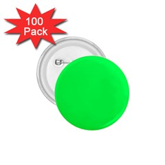 Neon Color - Luminous Vivid Malachite Green 1.75  Buttons (100 pack)