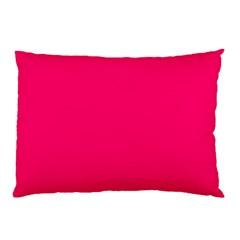 Neon Color - Luminous Vivid Raspberry Pillow Case