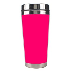 Neon Color   Luminous Vivid Raspberry Stainless Steel Travel Tumblers