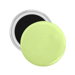 Neon Color - Pale Lime Green 2.25  Magnets