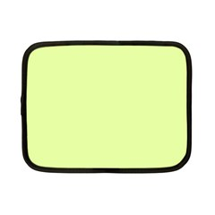 Neon Color - Pale Lime Green Netbook Case (Small)