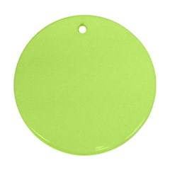 Neon Color - Very Light Spring Bud Ornament (Round)