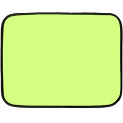 Neon Color - Very Light Spring Bud Double Sided Fleece Blanket (Mini)