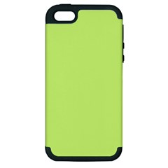 Neon Color - Very Light Spring Bud Apple iPhone 5 Hardshell Case (PC+Silicone)