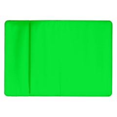 Neon Color - Vivid Malachite Green Samsung Galaxy Tab 10.1  P7500 Flip Case