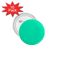 Neon Color - Vivid Turquoise 1.75  Buttons (10 pack)