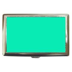 Neon Color - Vivid Turquoise Cigarette Money Cases