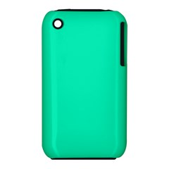 Neon Color - Vivid Turquoise iPhone 3S/3GS