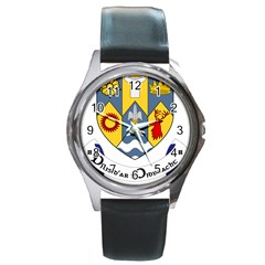 County Clare Coat of Arms Round Metal Watch