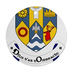 County Clare Coat of Arms Ornament (Round)