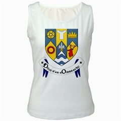 County Clare Coat of Arms Women s White Tank Top