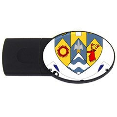 County Clare Coat of Arms USB Flash Drive Oval (1 GB)