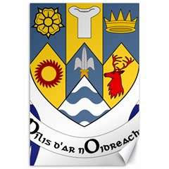 County Clare Coat of Arms Canvas 24  x 36