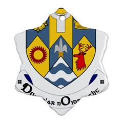 County Clare Coat of Arms Ornament (Snowflake)