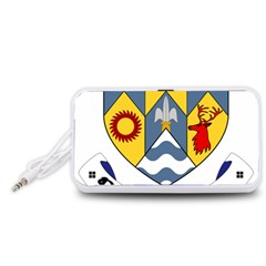 County Clare Coat of Arms Portable Speaker (White)