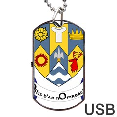 County Clare Coat of Arms Dog Tag USB Flash (One Side)
