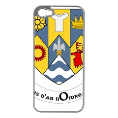 County Clare Coat of Arms Apple iPhone 5 Case (Silver)