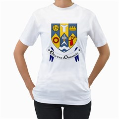 County Clare Coat of Arms Women s T-Shirt (White)