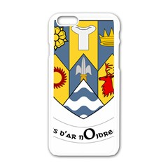 County Clare Coat of Arms Apple iPhone 6/6S White Enamel Case