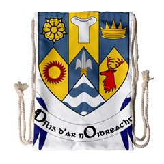 County Clare Coat of Arms Drawstring Bag (Large)