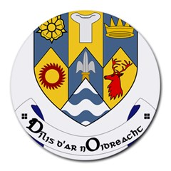 County Clare Coat of Arms Round Mousepads