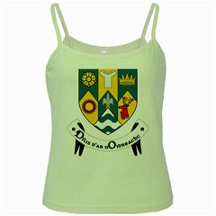 County Clare Coat of Arms Green Spaghetti Tank