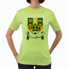County Clare Coat of Arms Women s Green T-Shirt