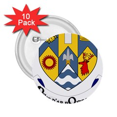 County Clare Coat of Arms 2.25  Buttons (10 pack)