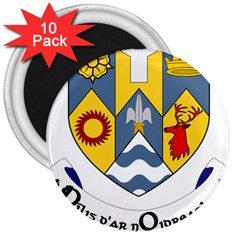 County Clare Coat of Arms 3  Magnets (10 pack)