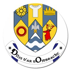 County Clare Coat of Arms Magnet 5  (Round)