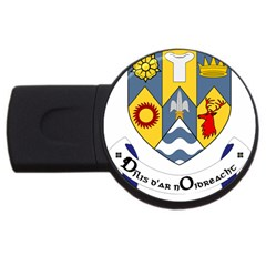 County Clare Coat of Arms USB Flash Drive Round (1 GB)