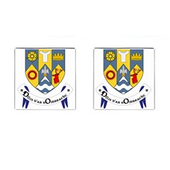 County Clare Coat of Arms Cufflinks (Square)