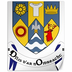 County Clare Coat of Arms Canvas 11  x 14