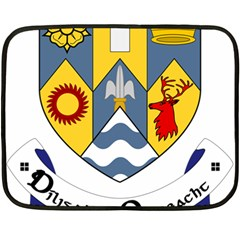 County Clare Coat Of Arms Double Sided Fleece Blanket (mini)