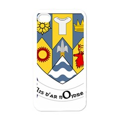 County Clare Coat of Arms Apple iPhone 4 Case (White)