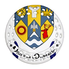 County Clare Coat of Arms Ornament (Round Filigree)