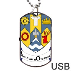 County Clare Coat of Arms Dog Tag USB Flash (Two Sides)