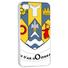 County Clare Coat of Arms Apple iPhone 4/4s Seamless Case (White)