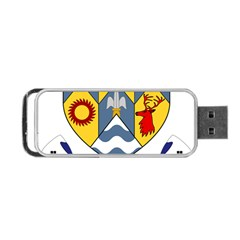 County Clare Coat of Arms Portable USB Flash (Two Sides)