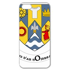 County Clare Coat of Arms Apple Seamless iPhone 5 Case (Clear)