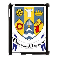 County Clare Coat of Arms Apple iPad 3/4 Case (Black)