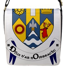 County Clare Coat of Arms Flap Messenger Bag (S)