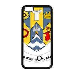 County Clare Coat of Arms Apple iPhone 5C Seamless Case (Black)